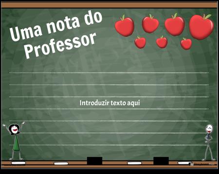 Notas 6 dos Pais e Professores
