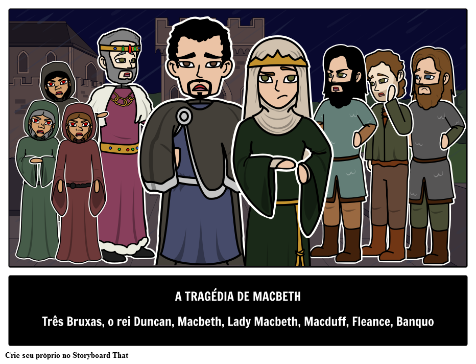 Personagens Principais de Macbeth