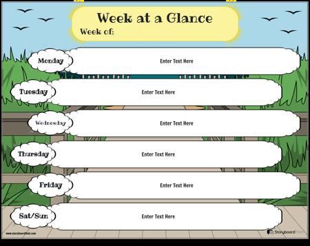 Planejador Semanal 6