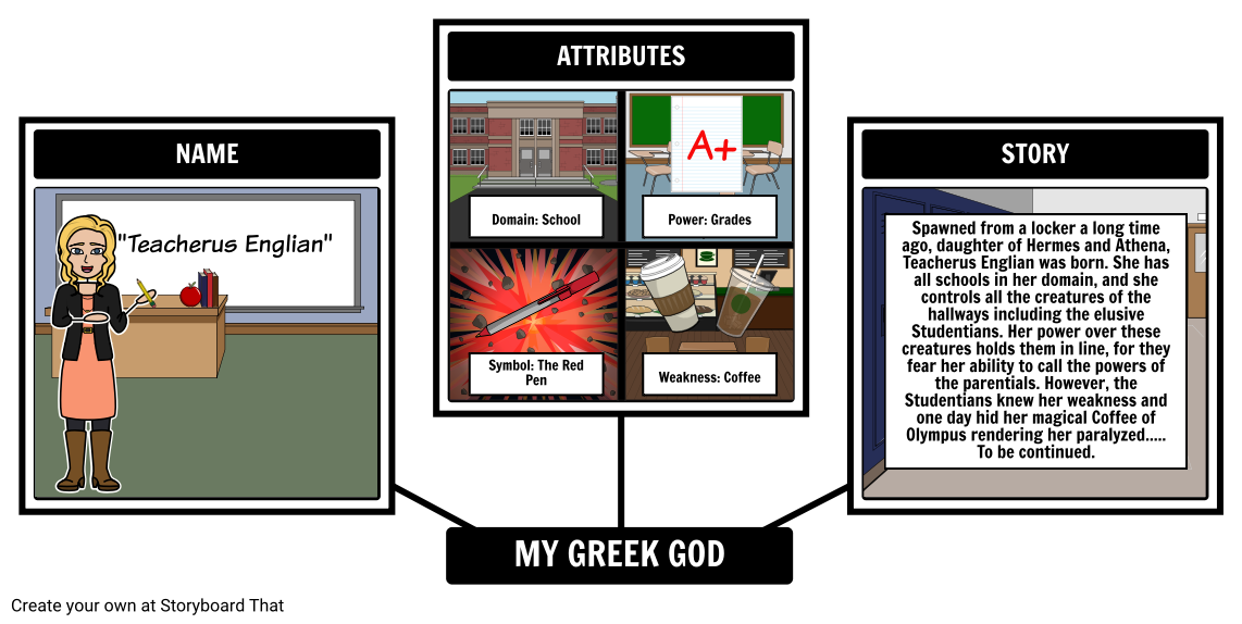 Greek Mythology - Modern Adaptation