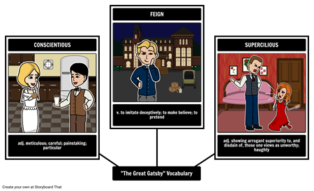 The Great Gatsby - Vocabulary