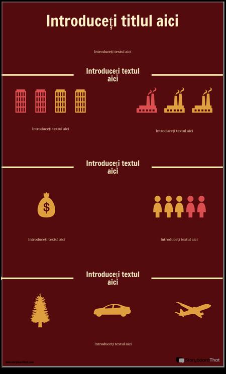 Șablon de Infografie Științifică