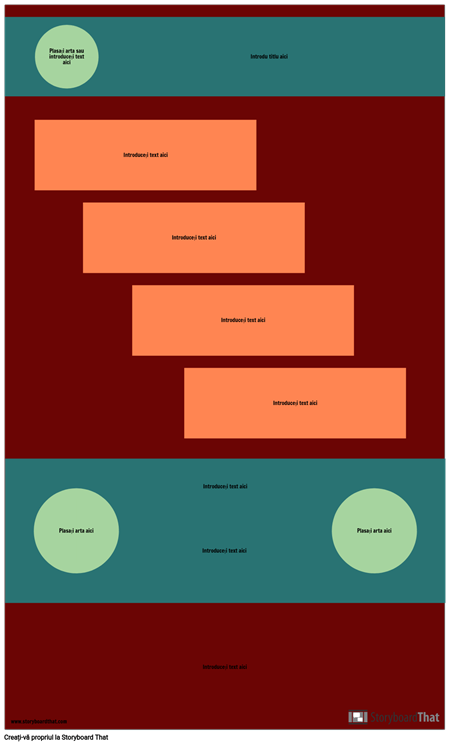 Șablon Infografic Step Blank