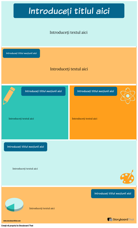 Șablon Infografic Strategii