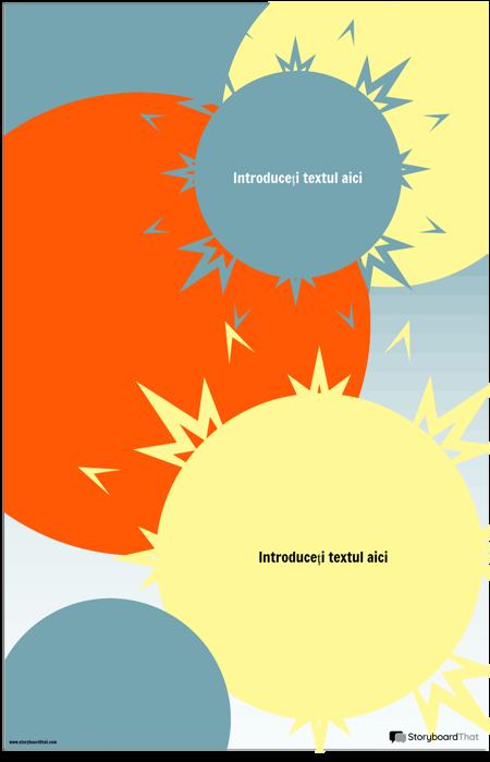 Șablon Infografic Sunburst