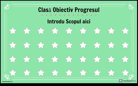 Afișul Obiectivelor din Clasă