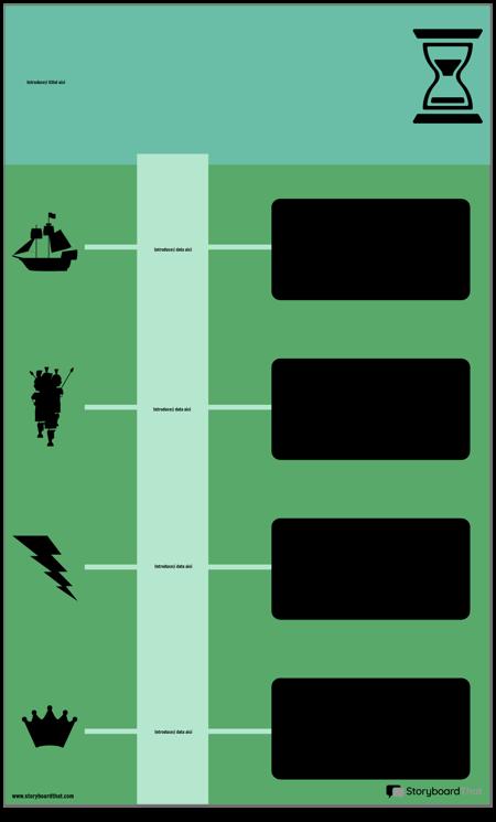 Blocați Cronologia Infografică