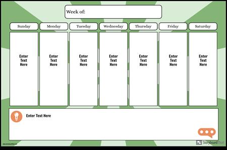 Calendar Săptămânal