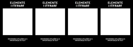 Literar Elemente Diagramă-T