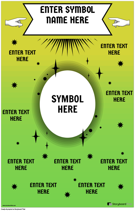 Poster cu Simboluri Matematice