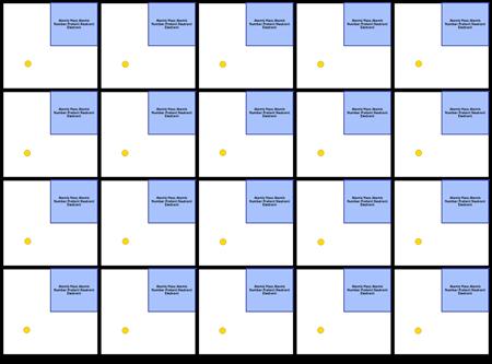 Primul Șablon de 20 de Elemente