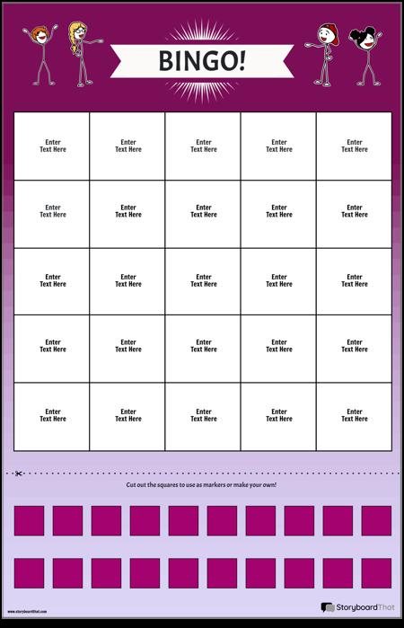 Tablou de joc Bingo