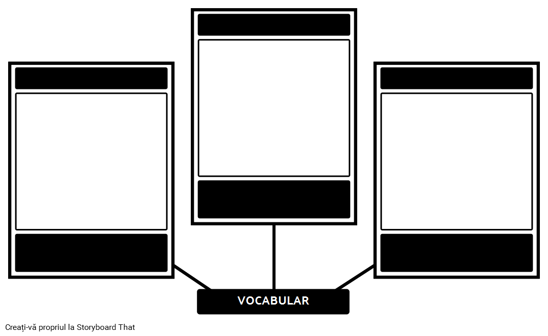 Vocabular Șablon Blank