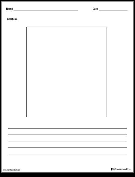 Нарисуйте и Напишите Рабочий Лист