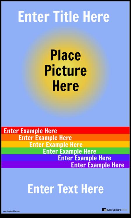 Визуальный Словарный Плакат