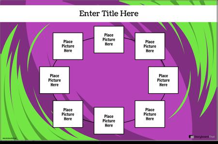 Плакат с Графиком Цикла