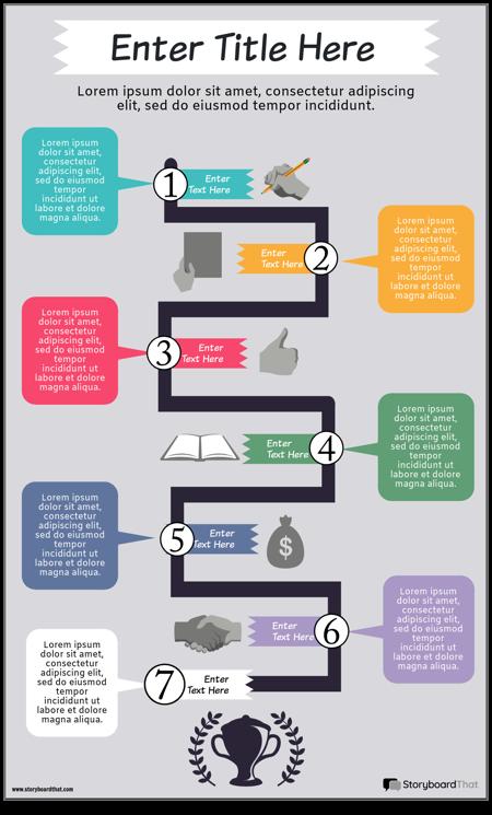 Блок-схема Инфографики 3