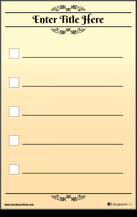 Контрольный Список Basic 5