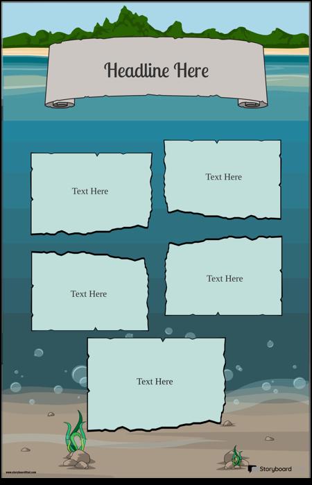 Под Водой Плакат 1