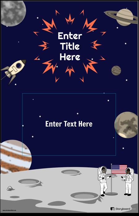 Плакат о Космосе 1