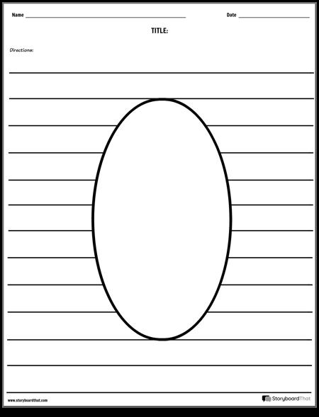 Овальный Рисунок
