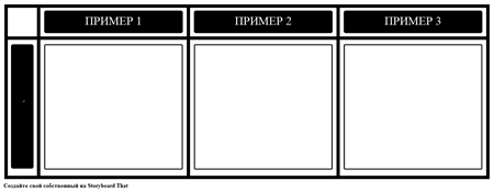 3 Примеры Диаграмм