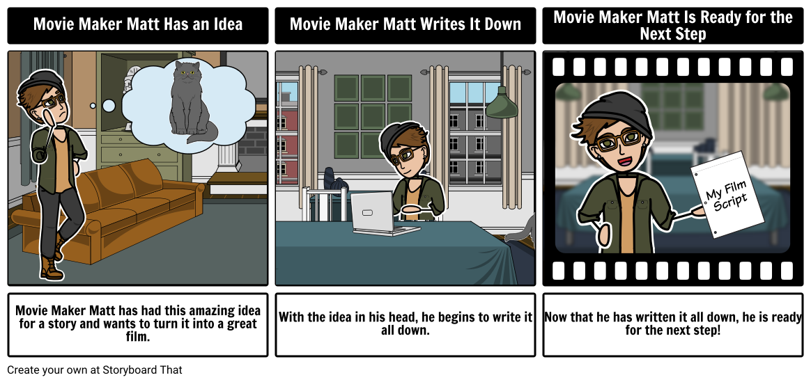 Movie Maker Matt's Scripting