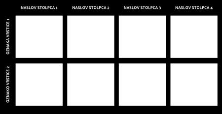 Blank 2x4 Grafikon