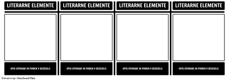 Literarni Elements T-Graf