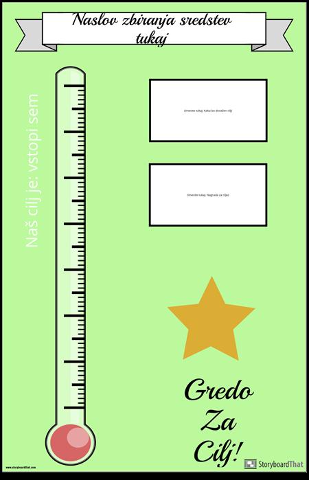Plakat za Zbiranje Sredstev