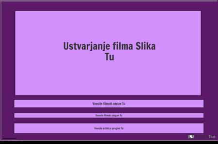 Predloga Filmskega Plakata, Pokrajina