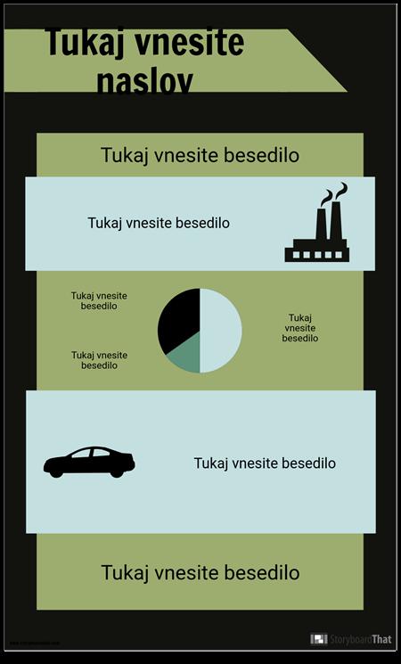 Predloga PSA Infographic