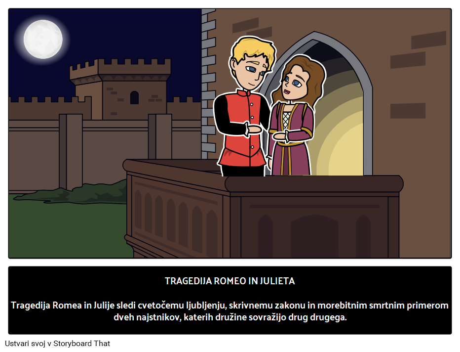 Romeo in Julija