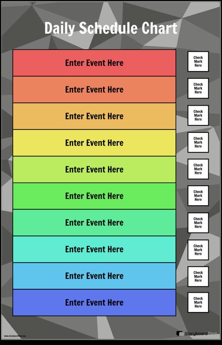 Tabela Dnevnega Urnika