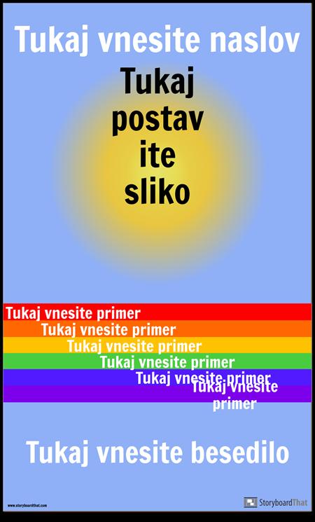Visual Vocab Poster