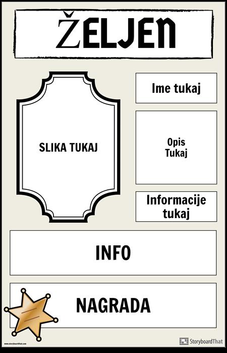 Želeni Plakat 2