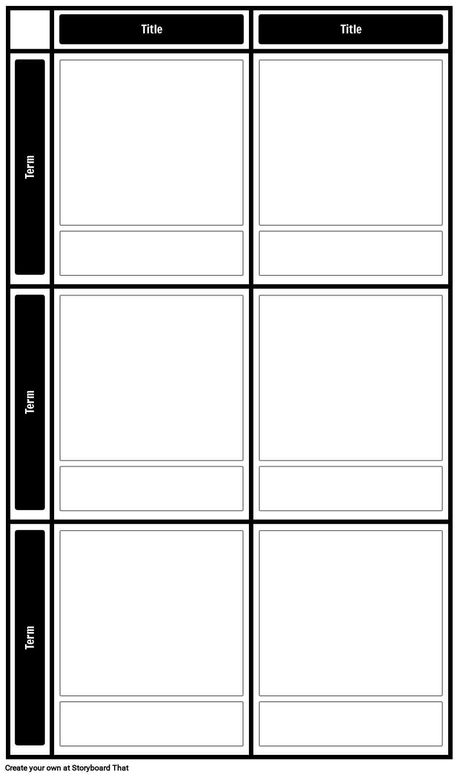 2x3 Chart