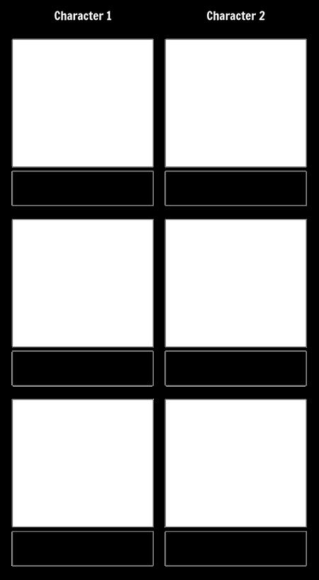 Character Comparison T-Chart