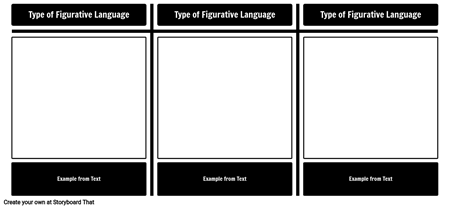 Figurative Language Examples Template