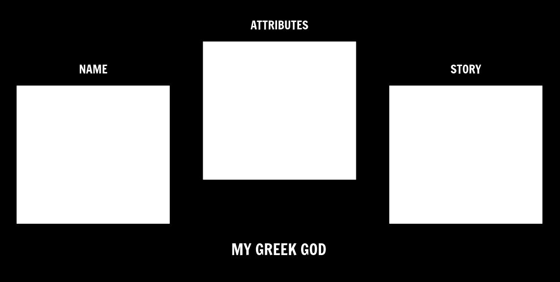 Make a Modern Greek God