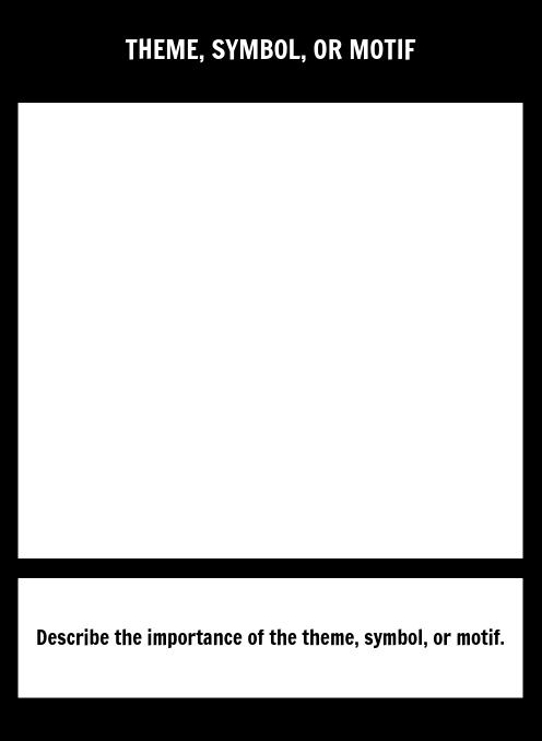 Symbol Square Template