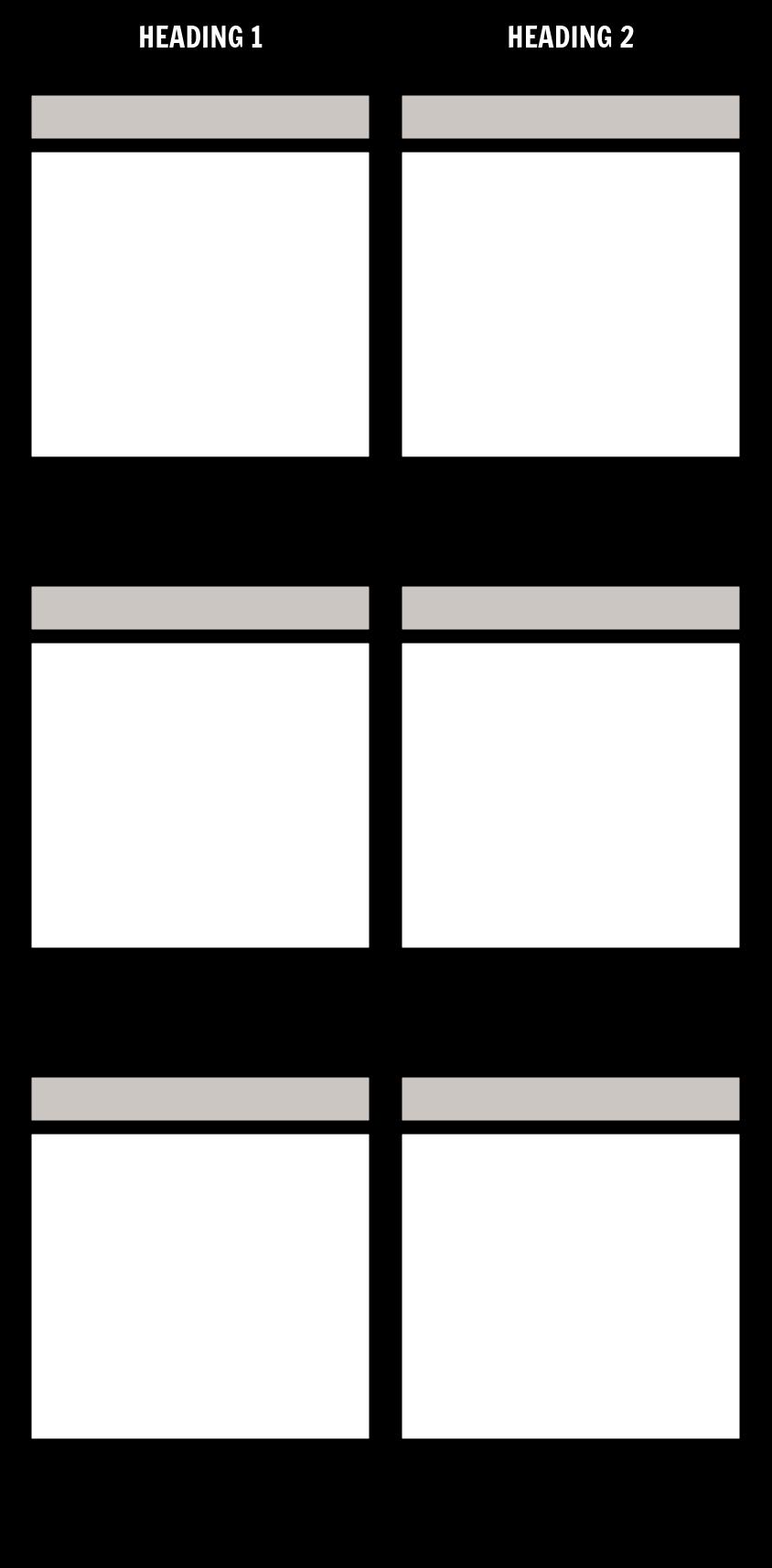 Title/Description T-Chart