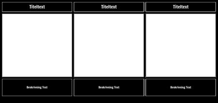 Blank cell med titel-beskrivning