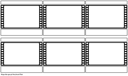 Filmstrip Storyboard Mall