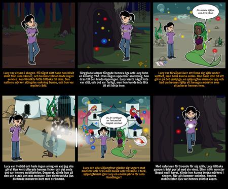 Halloween Aktiviteter - Story Starter