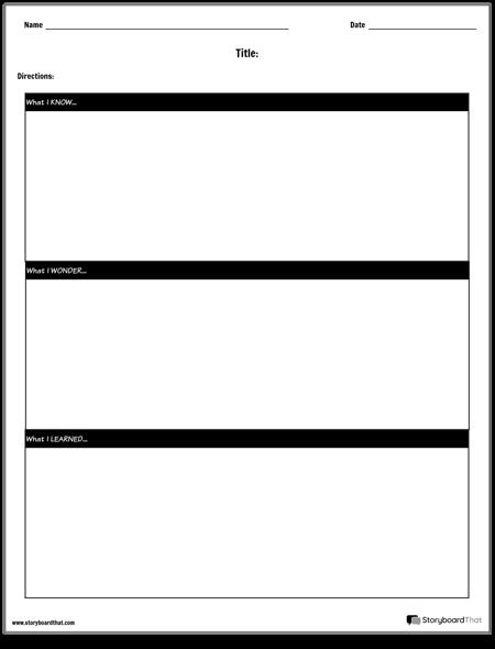 KWL-diagram - Band