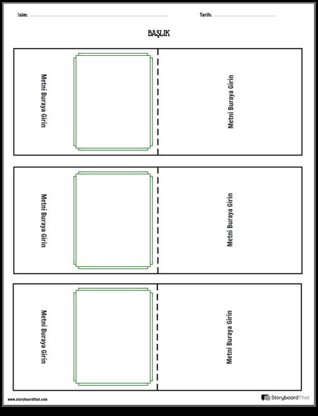 bilgi kartları şablonu 1