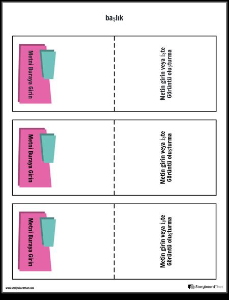 bilgi kartları şablonu 5
