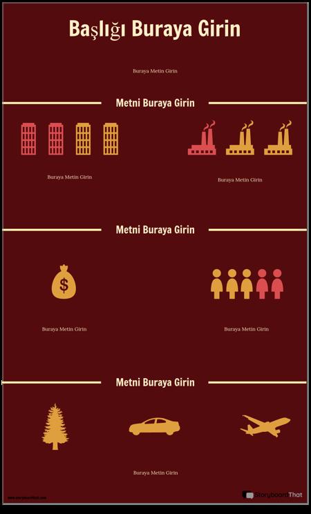 Bilim Bilgi Grafiği Şablonu