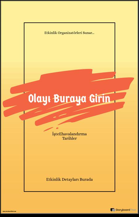 Etkinlik Posteri 1